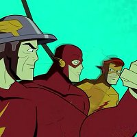 """Batman: The Brave and the Bold, """"Requiem for a Scarlet Speedster!"""""""